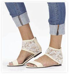 c9a3741d0db Cri De Coeur Vegan Crush Lace Cuff Sandal Lace Cuffs