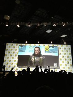 Perhaps Marvel Studios should consider changing Thor 2's title to Loki: The Dark World?.