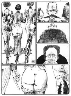 Lanterna Mágica (1975), de Guido Crepax