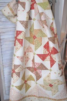 Patisserie Cherry Turnover Quilt