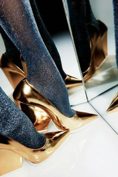 Chunks of gold #omgshoes