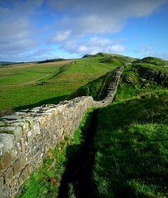 Hadrian's Wall, Northumberland, England (photo: H. Travis)