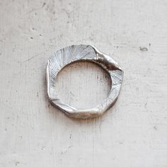 Sterling silver ring / One of a kind ring / Minimal by BlueBirdLab
