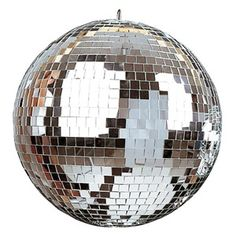 Every dance floor needs a mirror ball to get the night started! Lustrous, clear glass mirrors create an endless variety of decorative effects. An electric turner is included to keep your ball spinning all night!