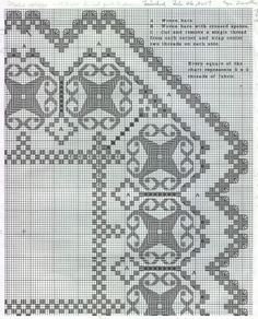 Hardanger+Embroidery+Free+Patterns | One of the patterns my mom has used. Actually, it's very easy to take