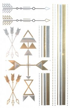 Gold & Silver & Black Jewelry design Metallic Temporary Tattoos, tattoo Size: x Hipster Blog, Hipster Jewelry, Hipster Accessories, Black Jewelry, Fashion Jewelry, Metallic Tattoo, Tattoo Sticker, Fake Tattoos, Tattoo Blog