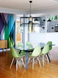 Geometric Wallpaper U0027Circus By Cole U0026 Son, Www.shelleecestanaway.com  Interior Design