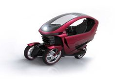 Phylla, an electric high-performance vehicle with solar and hydrogen fuel cells and intelligent systems for traffic, parking, and public transportation and their integration with the vehicle's telecommunication platform.