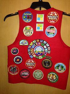 Cub Scout Patch Vest This Is My Son S Cub Scout Vest He