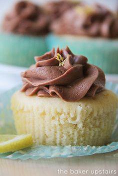 Lemon and Chocolate Cupcakes~
