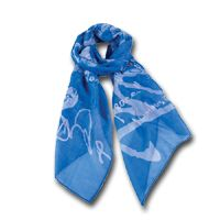 Buy Blessings- Blue Scarf, Stylish fashion scarf in vibrant color with written Scripture verse design throughout from YahWeh online store now. Numbers 6 24, Scarf Hanger, Friendship Gifts, Cross Stitch Designs, Scarf Styles, Soft Fabrics, Alexander Mcqueen Scarf, Print Design, Cool Style