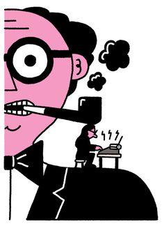 ILLUSTRAZIONE: L'umorismo originale nelle vignette di Leon Edler - Osso Magazine