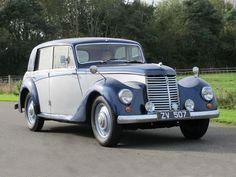 1952 Armstrong Siddeley Whitley 18hp Saloon
