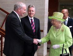 Historic handshake for Queen and Martin McGuinnessThe handshake that made history