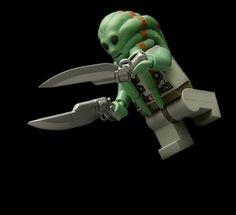 BrickArms Gunblade Sci-Fi LEGO Minifigure Weapon