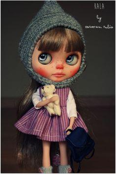 OOAK Custom Blythe Doll Nº50 by Carmen Rubio ** Kala ** [ Art Doll] #DollswithClothingAccessories