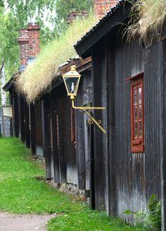 Ksityöläismuseo small street, - museum in Turku, Finland