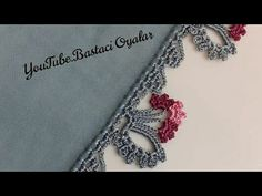 Fashion Sites, Needle Lace, Crochet Videos, Needlework, Crochet Necklace, Rose Gold, Embroidery, Youtube, Knitting