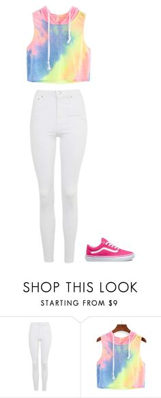 """""""Untitled"""" by staylookinggood ❤ liked on Polyvore featuring Topshop and Vans"""