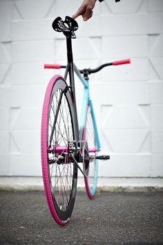 Jolie vélo pour ne pas passer inaperçu!
