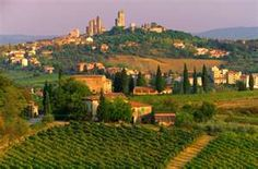 Tuscany, Italy - I would love to tour vinyards here.