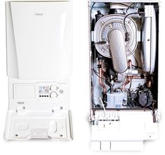 The Slant/Fin VSL-160 Condensing Gas boiler stands at the top in ...