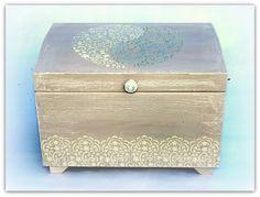 Beautiful, romantic wedding box, wedding card box, caja para boda, handmade box