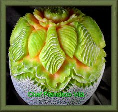 Carving, fruit carving