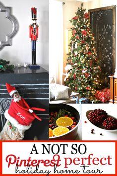 An Anti-Pinterest Christmas Home Tour - First Home Love Life