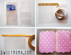 File folder scrapbooking sweet möma-004