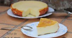 La combinación de queso y yogur dan a esta tarta una textura espectacular. Apunta cómo se hace. Te dan la receta desde el blog LAS RECETAS DE MASERO.