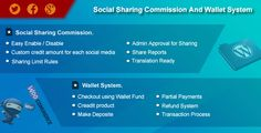 nice Woocommerce Effortless Social Sharing Commission And Wallet Program (Advertising and marketing)