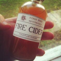 Fire Cider Recipe from Cauldrons & Crockpots.