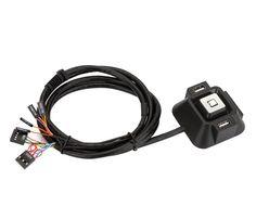 PC Desktop Computer Power ON/OFF Reset Switch Button Starter USB Audio Microphone Port Cable 120cm + Rear Bracket