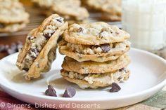 Cookie Dough Sandwich Cookies