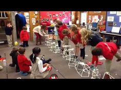 STEM: Engineering with 50 straws, masking tape, a baseball, and imagination / Video of 3rd-4th graders completing the STEM challenge.