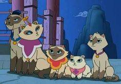 Sagwa the siamese chinese cat :)