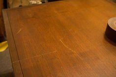 Trucos caseros para eliminar arañazos de los muebles.
