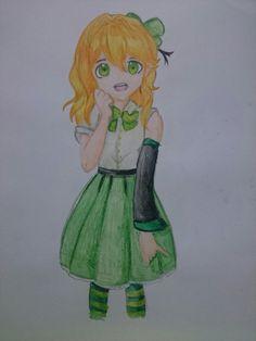 Anime lucky girl art