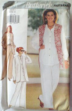 Women's Sewing Pattern  Misses/Misses Petite by Shelleyville