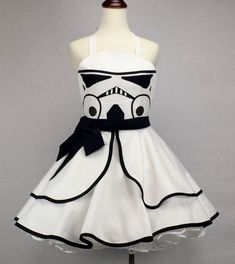 Star Wars Inspired Handmade Stormtrooper Apron Full by ActionPink