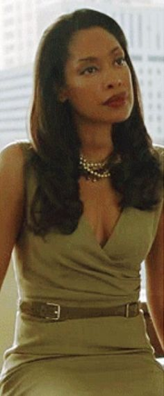 And the most beautiful of them all: Jessica Pearson aka Gina Torres
