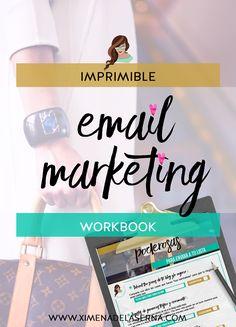 Aprende cómo hacer una campaña de email marketing efectiva! Newsletters, boletines... todo para emprender con pasión y alcanzar el exito online! Haz clic en la imagen para descargarte todos mis imprimibles y recursos gratis ya!!