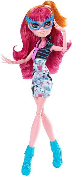 Amazon.com: Monster High Geek Shriek Gigi Grant Doll: Toys & Games