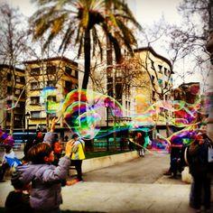 La ciudad que ilusiona.... Me inspiran sus artistas callejeros Arc del triumph Florencia Cepero
