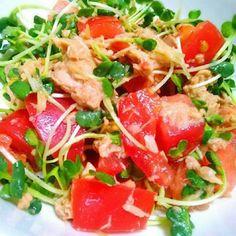 トマトとツナの「おもてなしサラダ」で食卓が一気に華やぐ!