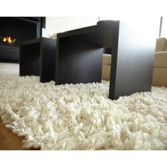 Recycled Paper Super Soft Shag Rug
