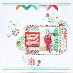 Crate Paper Bundled Up Layout (by Anabelle O'Malley)