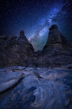 Night Sky: Milky Way by Tarik AlTurki on Beautiful Sky, Beautiful Images, Nature Pictures, Cool Pictures, Cosmos, Night Photography, Nature Photography, Milky Way, Science And Nature