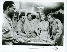 Arthur Kennedy and Peggy Dow starred Bright Victory (1951)